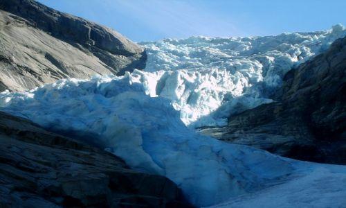 Zdjęcie NORWEGIA / Jostedalsbreen Nasjonalpark / brak / Jęzor lodowcowy2