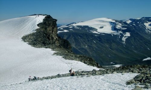 Zdjecie NORWEGIA / Jotunheimen / brak / Wysoko w górach2