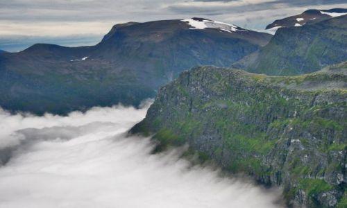 Zdjecie NORWEGIA / brak / Dalsnibba 1500mnpm / W chmurach
