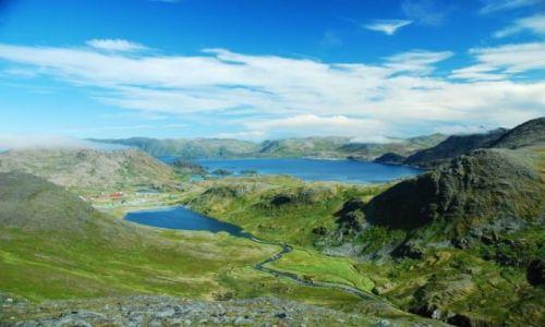 Zdjecie NORWEGIA / Finnmark / okolice Nordkapp / DALEKA ,PIĘKNA