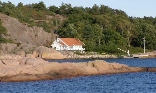 Zdjecie NORWEGIA / Południowe wybrzeże / Plaża na Tromy / Piękna Norwegia
