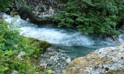 Zdjęcie NORWEGIA / Jostedalsbreen Nasjonalpark / brak / dangerous