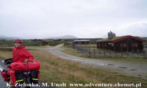 Zdjecie NORWEGIA / brak / Góry Rondane / Rowerowa wyprawa z Oslo na Nordkapp