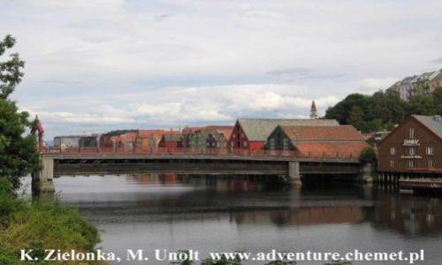 Zdjecie NORWEGIA / brak / Trondheim, Gamle Bybro / Rowerowa wypraw