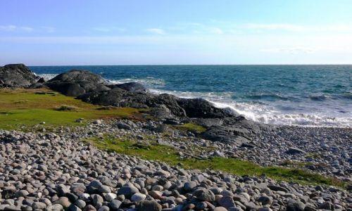 Zdjecie NORWEGIA / Moolen / rezerwat archeologiczny / Norweska sielanka