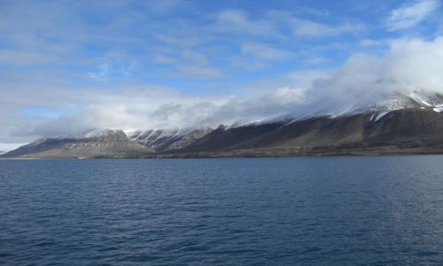 Zdjecie NORWEGIA / Svalbard / Spitsbergen / Podróż statkiem z Longyearbyen do Pyramiden
