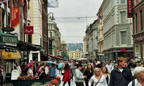 Zdjecie NORWEGIA / brak / Oslo / Dziwna metropolia