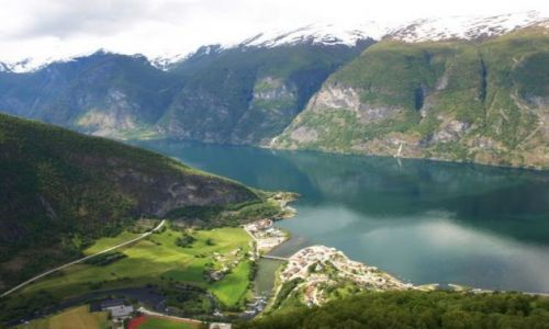 Zdjecie NORWEGIA / brak / Aurland / Aurlandsfjord