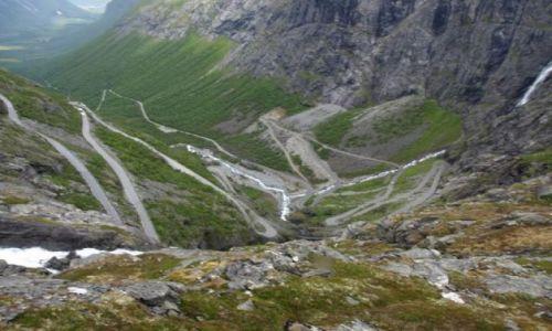 NORWEGIA / brak / Trollstigen / Drabina Trolli