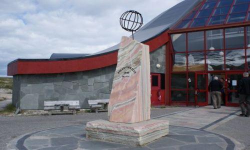 Zdjecie NORWEGIA / nord norge / 66*33 / pomnik