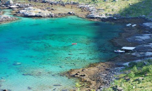 Zdjęcie NORWEGIA / reine / reine / Fiord