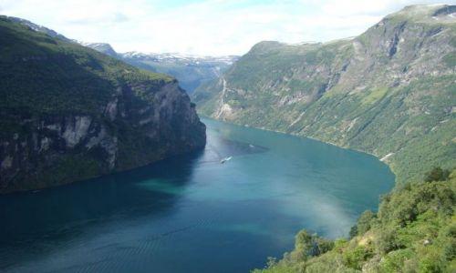 Zdjęcie NORWEGIA / More og Romsdal / Geiranger / Geiranger