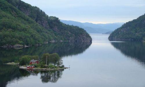 Zdjecie NORWEGIA / Rogaland / Rogaland / wodny świat