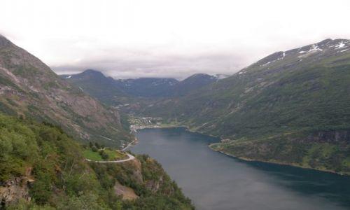 Zdjecie NORWEGIA / Koło Alesund / Koło Alesund / Fjord