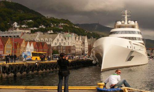 Zdjecie NORWEGIA / brak / Bergen / Port w Bergen