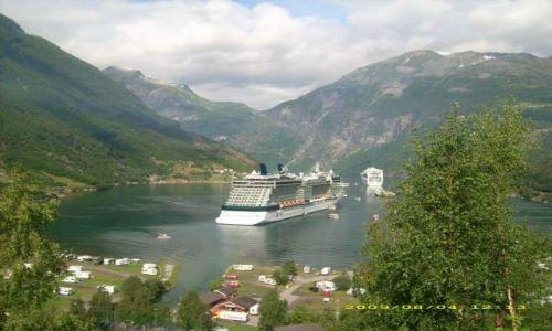 Zdjecie NORWEGIA / brak / Fiord Geiranger / Skandynawia