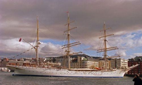 Zdjęcie NORWEGIA / Bergen / Port / Stadsraad Lehmkuhl
