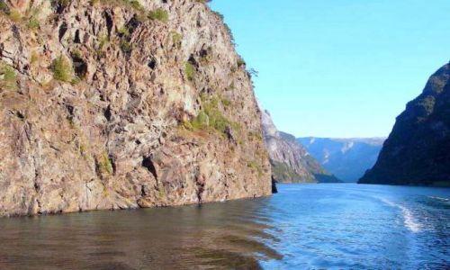 Zdjęcie NORWEGIA / Okolice Sognefiordu / okolice Gudvangen / rejs po fjordach