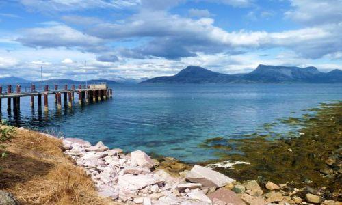 Zdjęcie NORWEGIA / Nordland / E6 / koniec drogi