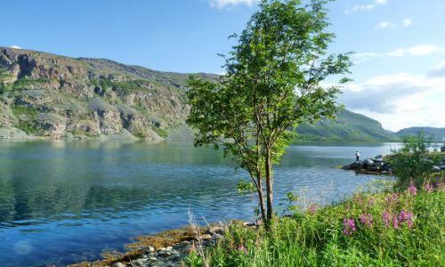 Zdjecie NORWEGIA / Nordeland / m6 / jedno z 1000 jezior