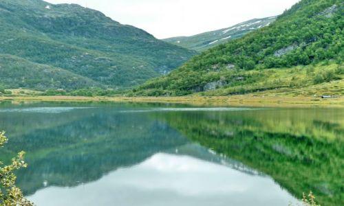 NORWEGIA / Nordland / E6 / odbicie
