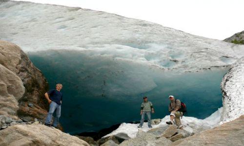 Zdjecie NORWEGIA / - / lodowiec / lodowiec