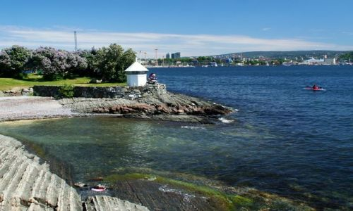 NORWEGIA / Oslo / Bygdoy / Latarenka