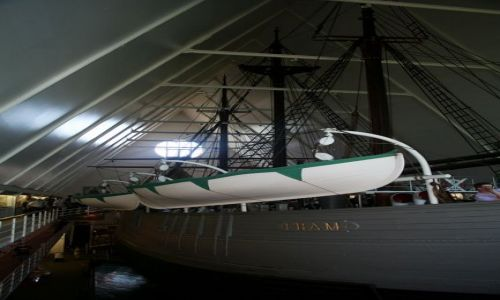 NORWEGIA / Oslo / Bygdoy / Statek polarny
