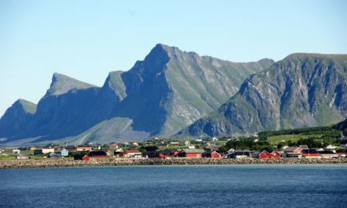 Zdjecie NORWEGIA / Lofoty / Norwegia Północna / Wspaniałe miejsce