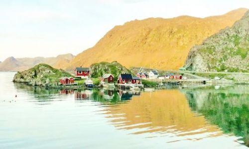 NORWEGIA / Nordkapp / Finmark / Na Norkapie