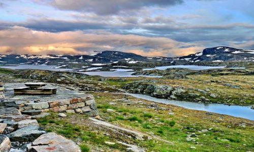 NORWEGIA / Hordaland / Hordaland / Norweskie wyżyny