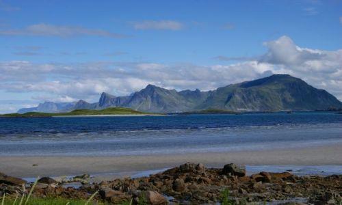 Zdjecie NORWEGIA / Nordland / Lofoty / Blue...