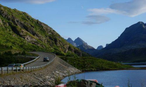 Zdjecie NORWEGIA / Nordland / Lofoty,droga E-10 / Lofoty