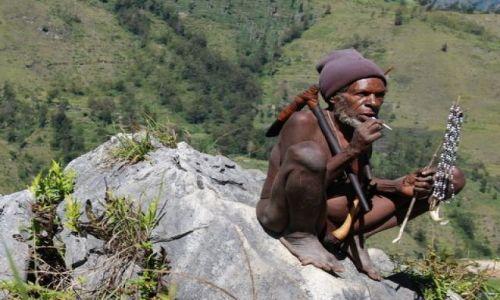 Zdjęcie NOWA GWINEA / Papua / Dolina Baliem / Papuas