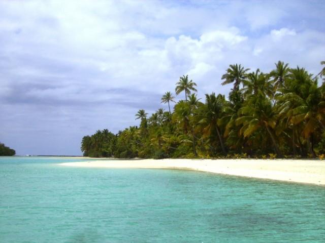 Zdjęcia: atol Aitutaki, Wyspy Cooka, bezludne wysepki - motu, NOWA ZELANDIA