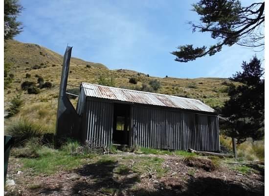 Zdjęcia: szlak, wyspa południowa, stara chata, NOWA ZELANDIA