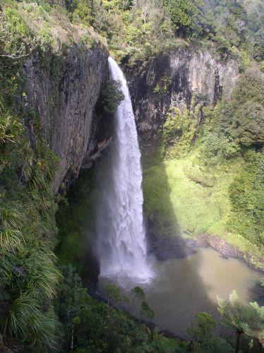 Zdjęcia: Waikato, Bridal Waterfall, NOWA ZELANDIA