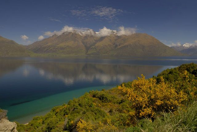 Zdjęcia: wyspa polodniowa, jeziorko I, NOWA ZELANDIA