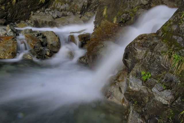 Zdj�cia: wyspa polodniowa, strumien, NOWA ZELANDIA