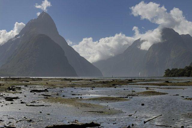 Zdj�cia: wyspa polodniowa, fiordy , NOWA ZELANDIA