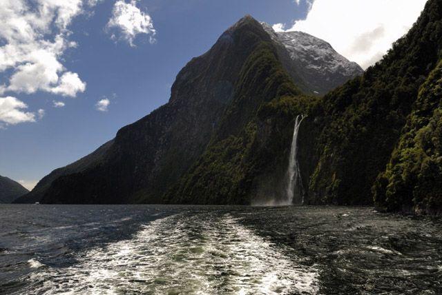 Zdj�cia: wyspa polodniowa, fiordy, NOWA ZELANDIA