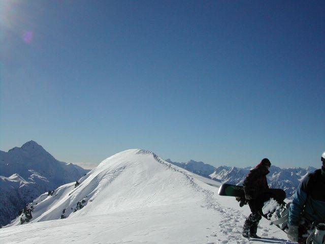 Zdj�cia: ok 50 km na pd od Methven, ok. 3.000 mnpm, Alpy Po�udniowe NZ, Alpy Po�udniowe - Snowboard'ing, NOWA ZELANDIA