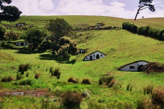 Zdjęcia: Matamata, Wyspa Północna, Hobbiton prosto z Władcy Pierścieni, NOWA ZELANDIA