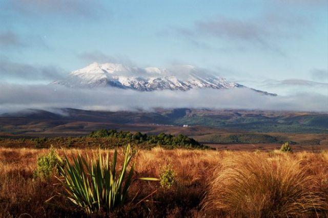 Zdjęcia: Tongariro National Park, Wyspa Północna, Ruapehu - największy wulkan Nowej Zelandii, NOWA ZELANDIA
