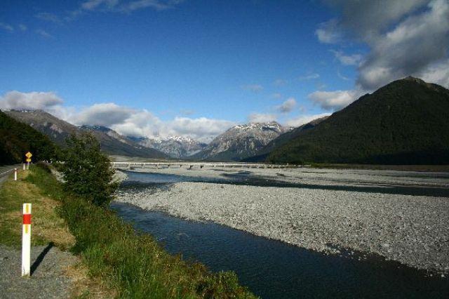Zdj�cia: Arthur Pass, po przejechaniu Arthur Pass, NOWA ZELANDIA