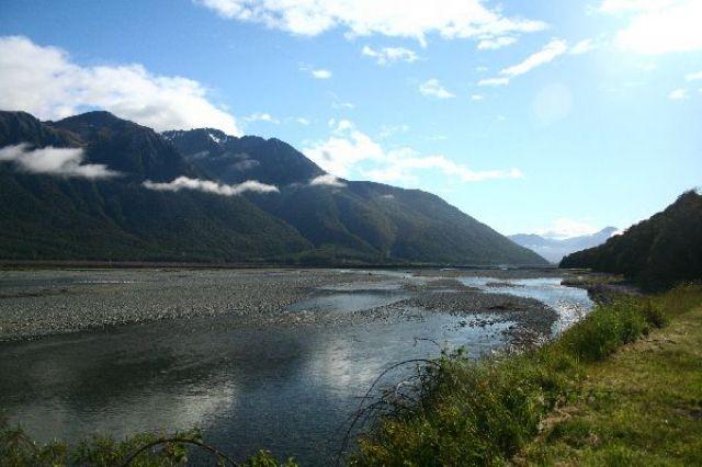 Zdjęcia: Arthur Pass, po przejechaniu Arthur Pass, NOWA ZELANDIA