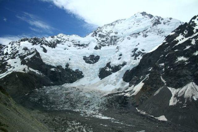 Zdj�cia: Alpy nowozelandzkie, Mount Cook, NOWA ZELANDIA