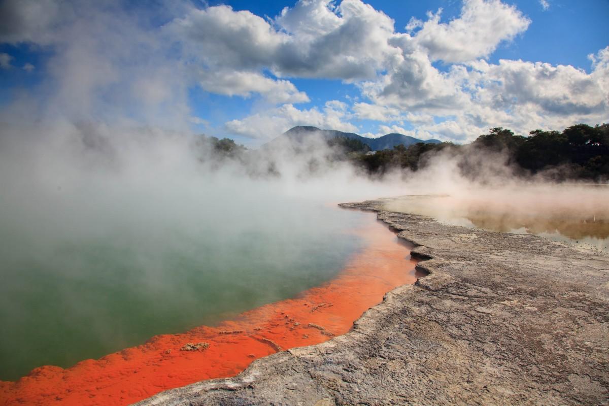 Zdjęcia: Rotorua, Rotorua, Champagne Pool , NOWA ZELANDIA