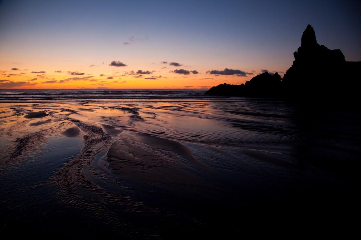 Zdjęcia: Piha Beach, West Coast, Auckland, Piha Beach, NOWA ZELANDIA