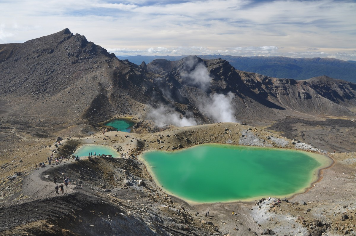 Zdjęcia: Tongariro National Park, Wyspa Północna, Tongariro Alpine Crossing, NOWA ZELANDIA